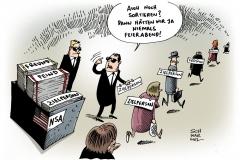 schwarwel-karikatur-nsa-kanzler-lauschangriff-schröder