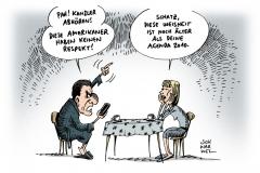 schwarwel-karikatur-kanzler-lauschangriff-schröder-nsa-geheimdienst