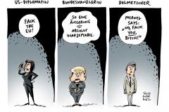 schwarwel-karikatur-fuck-eu-europaeische union-diplomatie
