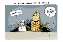 schwarwel-karikatur-genmais-zulassung-enthaltung-landwirtschaft
