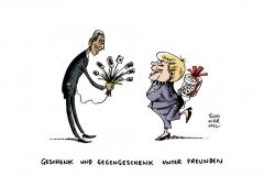schwarwel-karikatur-valentin-geschenk-gegengeschenk-obama-merkel