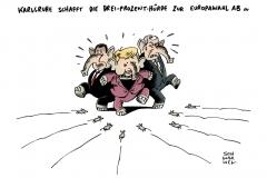 schwarwel-karikatur-dreiprozenthuerde-europawahl-bundesverfassungsgericht