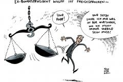 schwarwel-karikatur-wulff-freispruch-exbundespräsident-gericht