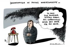 schwarwel-karikatur-janukowitsch-ukraine-honecker-putin