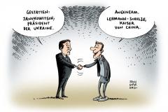 schwarwel-karikatur-janukowitsch-präsident-kandidat