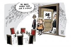 schwarwel-karikatur-g8-gipfeltreffen-g7-obama-merkal