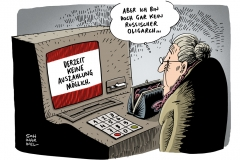 schwarwel-karikatur-sanktion-konten-oligarch-russland