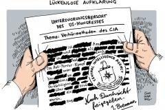 schwarwel-karikatur-cia-untersuchungsbericht-aufklaerung-verhoermethoden