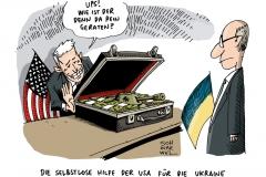 schwarwel-karikatur-ukraine-usa-waffen-hilfe