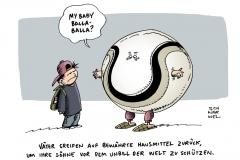 schwarwel-karikatur-balla-fussball-politik-vater