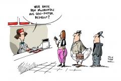 schwrwel-karikatur-mcchicken-genfutter-mcdonalds