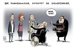 schwarwel-karikatur-steuer-finanzminister-steuerzahler-schaeuble