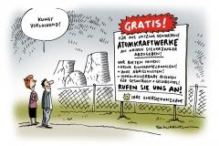 schwarwel-karikatur-atom-atomkraftwerke-energiekonzerne-atomar