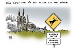 schwarwel-karikatur-erdogan-tuerkei-beusch-deutschland-koeln