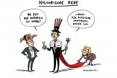 schwarwel-karikatur-imperium-historische-rede-obama-putin-merkel