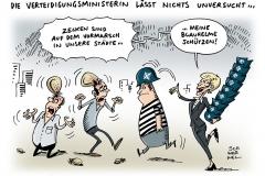 schwarwel-karikatur-zecke-infektionsgefahr-verteidigungsministerin-von-der-leyen