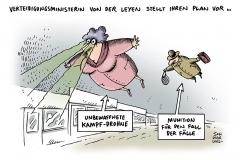 schwarwel-karikatur-drohne-verteidigungsministerin-von-der-leyen