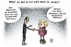 schwarwel-karikatur-spionage-us-affaere-ueberwachung-merkel-obama