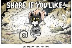 schwarwel-karikatur-share-kriegsberichterstattung-presse-journalismus
