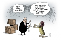 schwarwel-karikatur-waffen-nordirak-dschihadisten-waffenlieferung