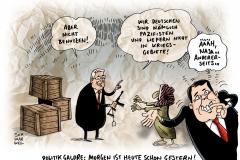 schwarwel-karikatur-waffen-pazifisten-steinmeier