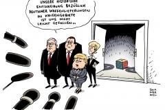 schwarwel-karikatur-waffen-waffengewalt-terror-merkel-von-der-leyen-steinmeier-sigmar-gabriel