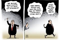 schwarwel-karikatur-feierabend-waffenliefferung-spd-gabriel-irak