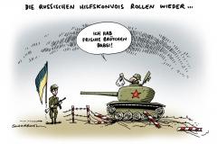 schwarwel-karikatur-ukraine-ostukraine-militaer-panzer-konflikt