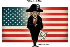 schwarwel-karikatur-obama-abschiebestop-napoleon