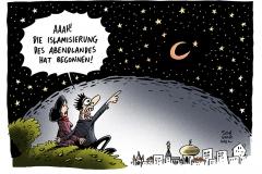 schwarwel-karikatur-islamisierung-islam-abendland