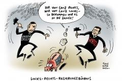 schwarwel-karikatur-griechenland-regierungsbuendnis-links-rechts