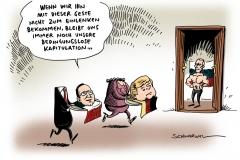 schwarwel-karikatur-putin-merkel-hollande-ukraine
