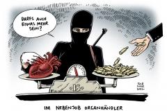 schwarwel-karikatur-organhandel-is-islamischer-staat-terrormiliz