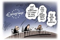 schwarwel-karikatur-eurogroup-griechenland-kredithilfe