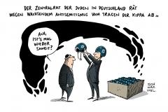 schwarwel-karikatur-kippa-antisemitismus-deutschland-juden