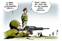 schwarwel-karikatur-gewehr-bundeswehr-g36
