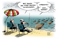 schwarwl-karikatur-lampedusa-schiffsunglueck-fluechtlinge