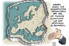 schwarwl-karikatur-europa-mauer-fluechtlinge-eu-europaeische-union