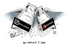 schwarwel-karikatur-deutsche-bank-postbank-bank