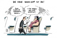 schwarwel-karikatur-bahnapp-db-apple