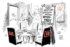 schwarwel-karikatur-db-deutsche bahn-tarifkonflikt