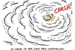schwarwel-karikatur-china-crash-absturz-boerse