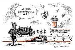 schwarwel-karikatur-taskforce-ber-flughafen-berlin