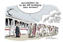 schwarwel-karikatur-sonderzug-pankow-fluechtlinge