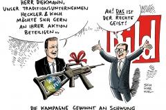schwarwel-karikatur-bild-hilfsaktion-waffen-kai-dieckmann