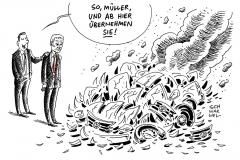 schwarwel-karikatur-vw-volkswagen-autoindustrie-autohersteller-crash-vorstandschef-dieselgate