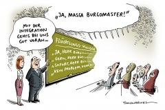 schwarwel-karikatur-integration-fluechtlinge-asylsuchende-unterricht-fluechtlingsknigge