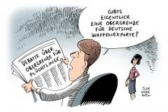 karikatur-schwarwel-waffenexport-fluechtlinge-obergrenze