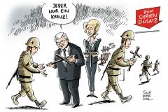 karikatur-schwarwel-einsatz-bundeswehreinsatz-von-der-leyen-syrien