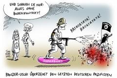 karikatur-schwarwel-bodenkontakt-bundeswehr-einsatz-von-der-leyen